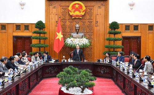 Thủ tướng gặp mặt đoàn đại biểu Hội Quy hoạch phát triển đô thị