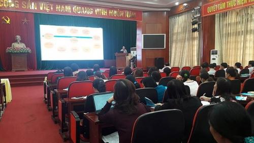 LĐLĐ huyện Phú Xuyên: Huấn luyện ATVSLĐ cho gần 150 CNVCLĐ