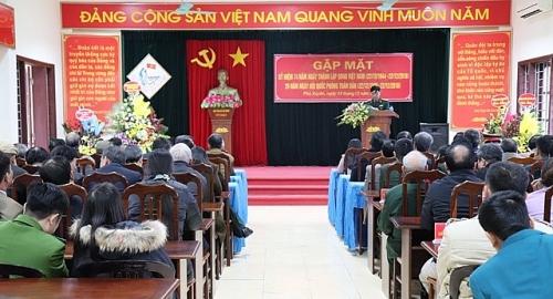 Huyện Phú Xuyên: Gặp mặt nhân kỷ niệm ngày Quân đội nhân dân Việt Nam