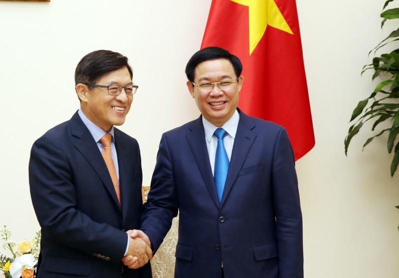 Samsung luôn giữ chiến lược đầu tư lâu dài tại Việt Nam