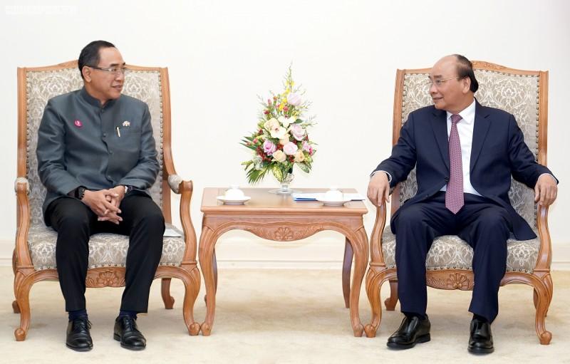 Thủ tướng Nguyễn Xuân Phúc tiếp Đại sứ Thái Lan tại Việt Nam