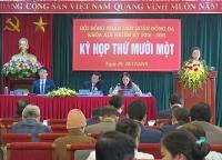 Khai mạc kỳ họp thứ 11, Hội đồng nhân dân quận Đống Đa khóa XIX