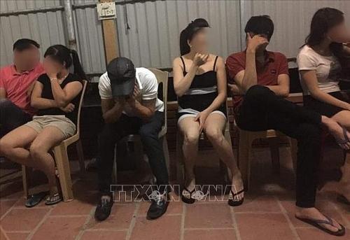 Triệt xóa nhiều tụ điểm hoạt động mại dâm ở Hà Nội