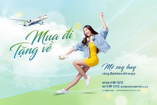 'Mua đi, tặng về' - bay thỏa thích đầu đông cùng Bamboo Airways
