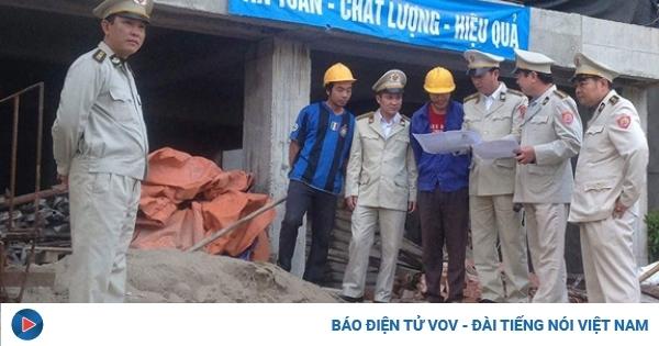 Hà Nội tiếp tục thí điểm Đội Quản lý trật tự xây dựng đô thị thuộc Ủy ban nhân dân quận
