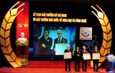 Ngày 15/1, trao giải thưởng Hồ Chí Minh về khoa học và công nghệ