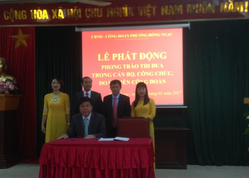 LĐLĐ quận Bắc Từ Liêm: Phát động thi đua điểm năm 2017