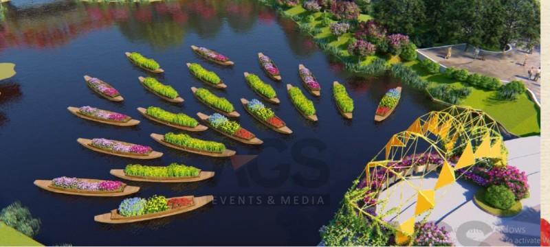 """""""Quảng Ninh thu nhỏ"""" trong Lễ hội hoa xuân tại Sun World Halong Complex"""