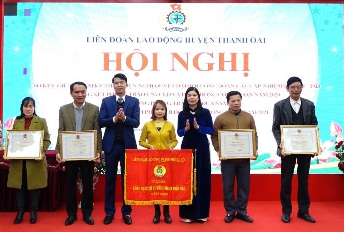Liên đoàn Lao động huyện Thanh Oai: Hoàn thành tốt chương trình công tác năm 2020