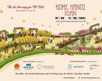 Đường hoa Home Hanoi Xuan 2021 sắp xuất hiện tại Hà Nội