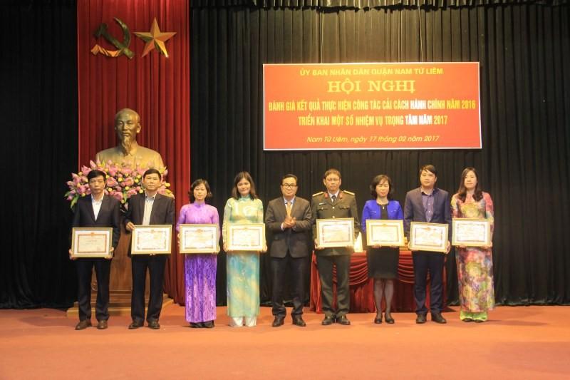Quận Nam Từ Liêm: Xây dựng 'Chính quyền, công sở thân thiện trách nhiệm'