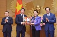 Văn Phú – Invest được Chủ tịch Quốc hội vinh danh cho nhiều đóng góp đáng ghi nhận