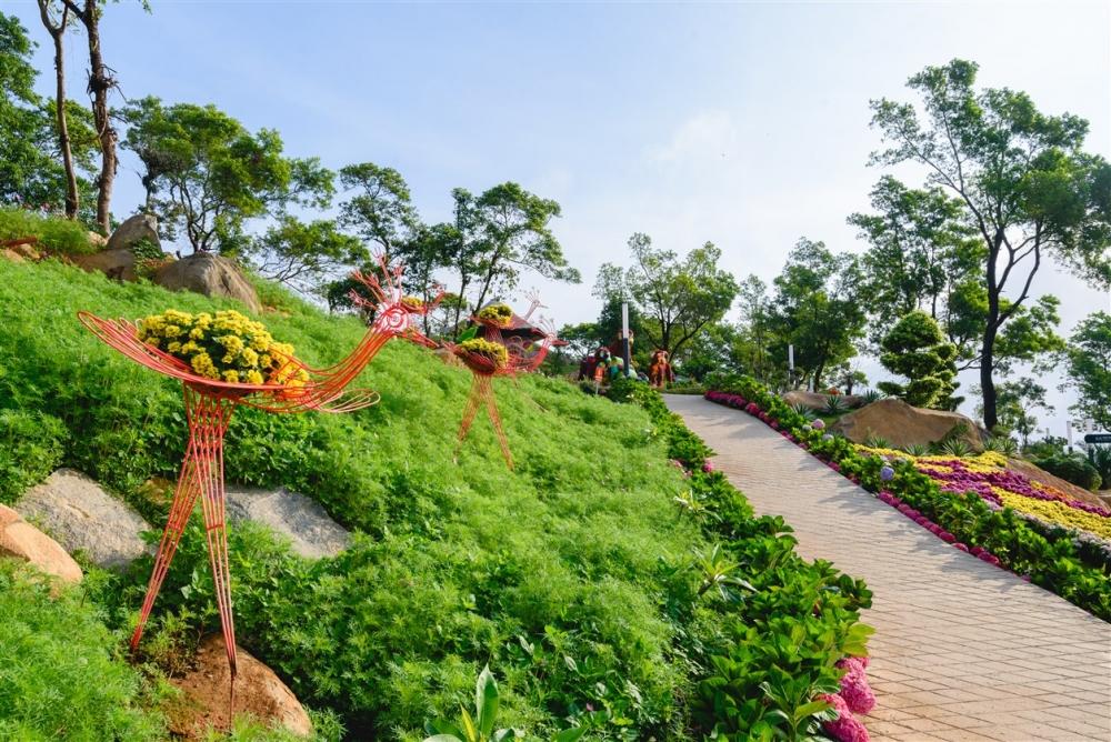 Ngắm nhìn Núi Bà Tây Ninh đẹp vi diệu những ngày đầu xuân