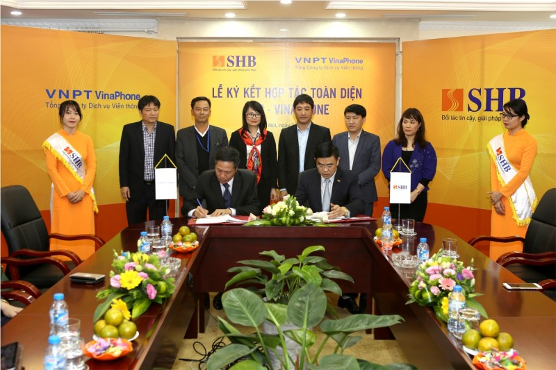 SHB và Vinaphone hợp tác toàn diện