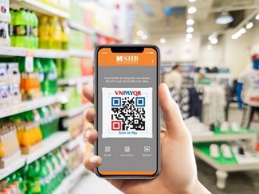 SHB ra mắt giải pháp thanh toán bằng camera điện thoại