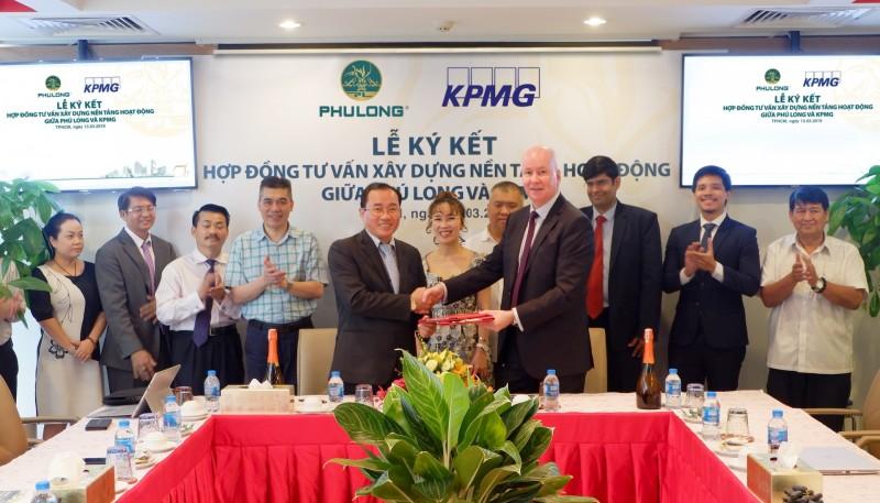 KPMG trở thành đơn vị tư vấn xây dựng nền tảng hoạt động cho Phú Long