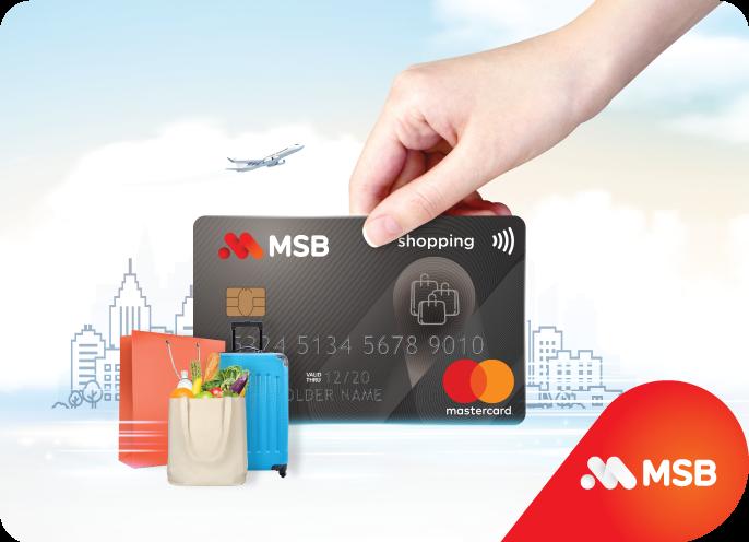 Ra mắt Thẻ tín dụng siêu miễn phí MSB Mastercard