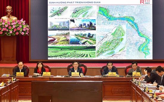Hà Nội sắp hoàn tất quy hoạch phân khu đô thị sông Hồng