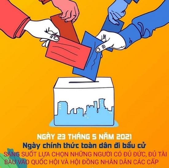 Quận Cầu Giấy đẩy mạnh tuyên truyền công tác bầu cử trong công nhân lao động