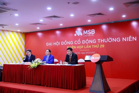 MSB đặt mục tiêu lợi nhuận 2021 tăng 30%