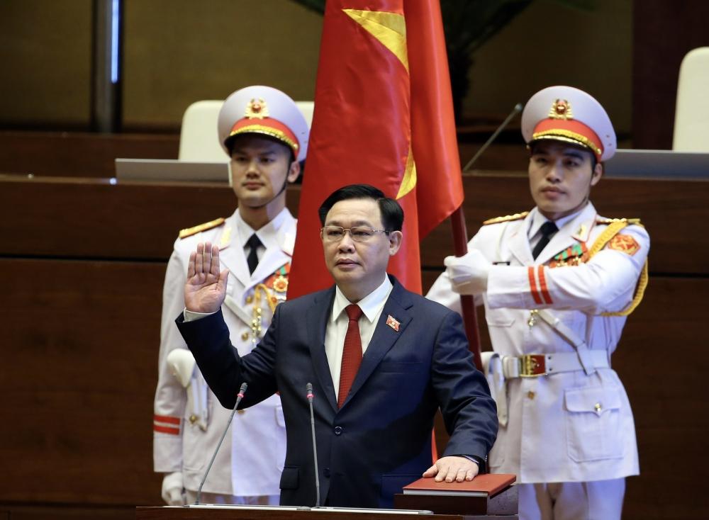 Ông Vương Đình Huệ chính thức trở thành Chủ tịch Quốc hội