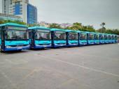 Thay xe mới tuyến buýt số 35A Trần Khánh Dư – Nam Thăng Long