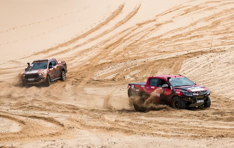 Khởi động Giải đua xe thể thao địa hình sa mạc thách thức bậc nhất trong năm