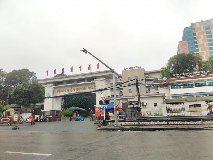 Từ ngày 12/4 sẽ chấm dứt phong tỏa Bệnh viện Bạch Mai