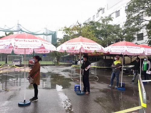Quận Cầu Giấy: Xét nghiệm hơn 1.000 người liên quan đến Bệnh viện Bạch Mai