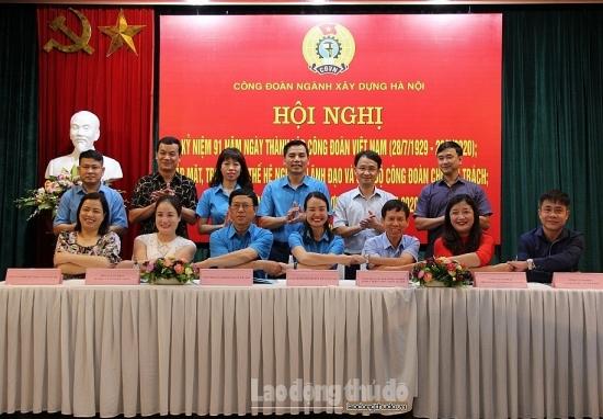 Công đoàn ngành Xây dựng Hà Nội: Chăm lo thiết thực cho đoàn viên, người lao động