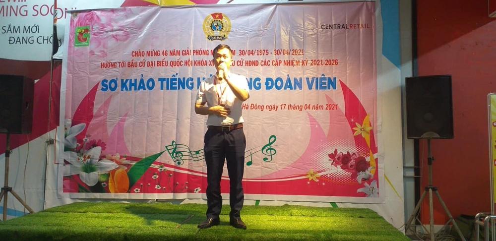 Tiếng hát công đoàn viên BigC Thăng Long