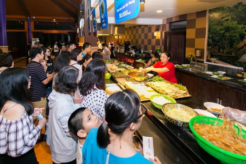 Trải nghiệm không gian ẩm thực lớn nhất Đà Nẵng