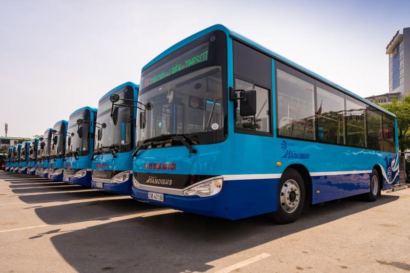 Thay mới và điều chỉnh lộ trình một số tuyến xe buýt