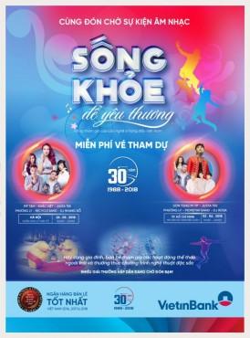 """VietinBank tổ chức chuỗi sự kiện """"Sống khỏe để yêu thương"""""""