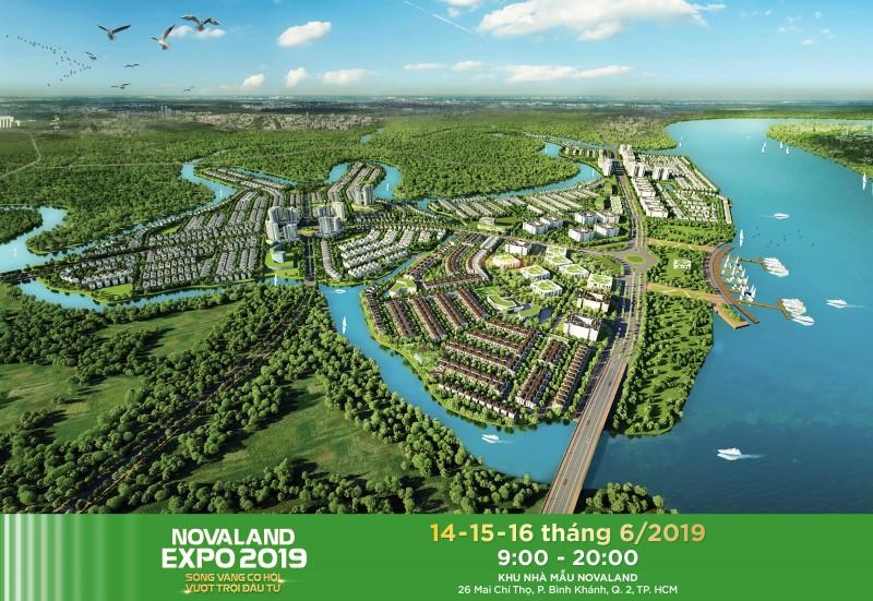 trien lam bat dong san novaland expo 2019 nhieu du an lan dau trinh lang