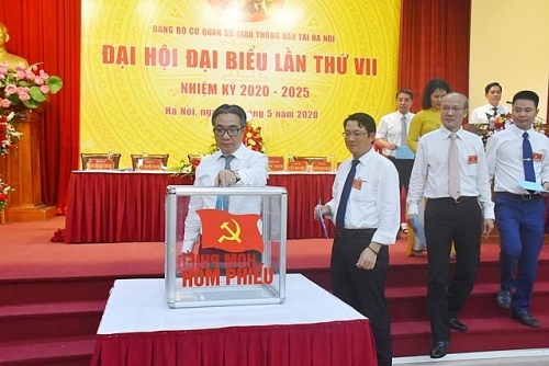 Đại hội Đảng bộ Sở Giao thông Vận tải Hà Nội, nhiệm kỳ 2020-2025