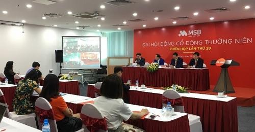 Đại hội cổ đông MSBđặt mục tiêu lợi nhuận năm 2020 đạt1.439tỷ