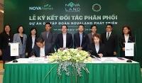 Quy mô lớn, sản phẩm đa dạng, Novaland tăng cường hợp tác với các đơn vị phân phối uy tín