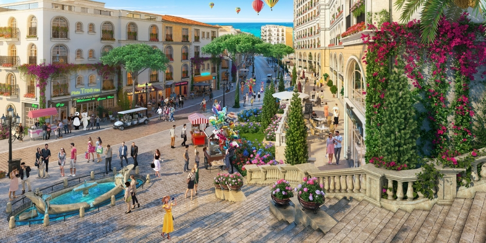 The Center, đẳng cấp shophouse tại tâm mạch thị trấn Địa Trung Hải