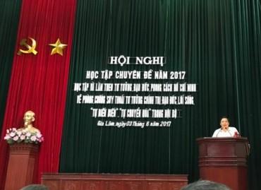 Huyện Gia Lâm: Quán triệt chuyên đề Học tập và làm theo tư tưởng, đạo đức, phong cách Hồ Chí Minh