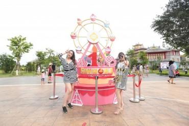 """Bốc thăm trúng quà """"siêu hot"""" tại sinh nhật Sun World Halong Complex"""