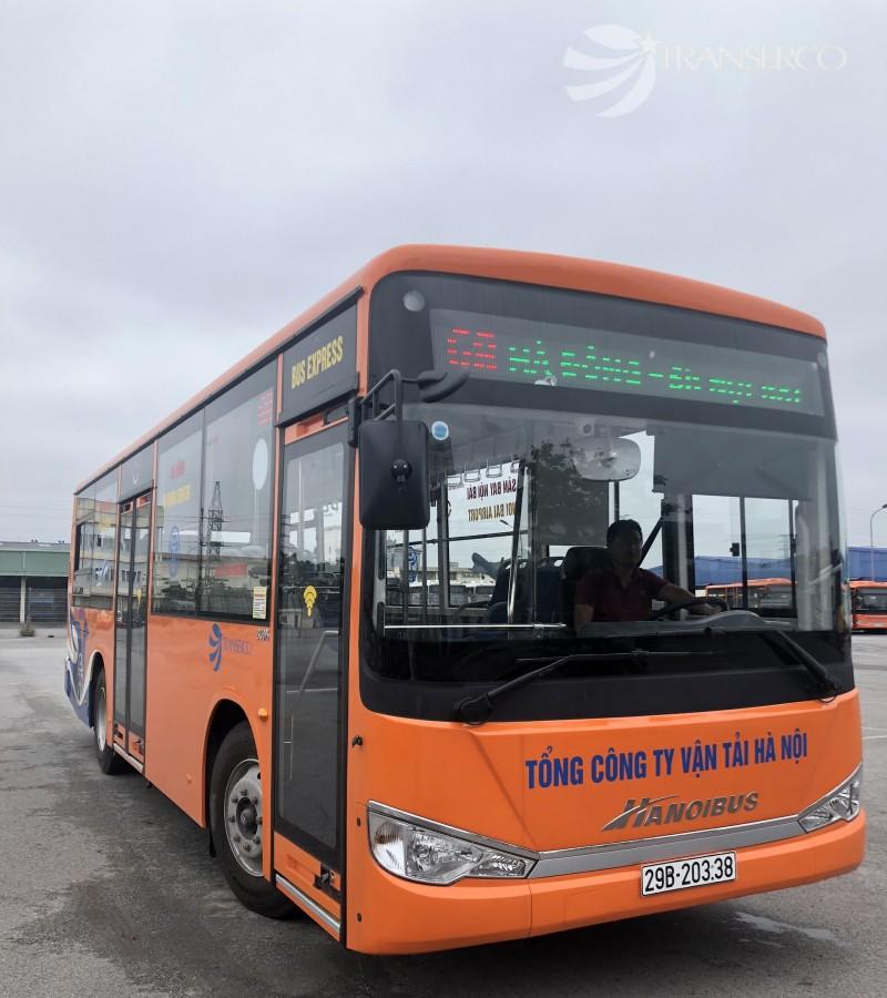 Hà Nội: Mở tuyến buýt chất lượng cao Hà Đông - Sân bay Nội Bài