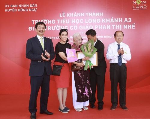 Đồng Tháp: Khánh thành điểm trường Cô giáo Phan Thị Nhế