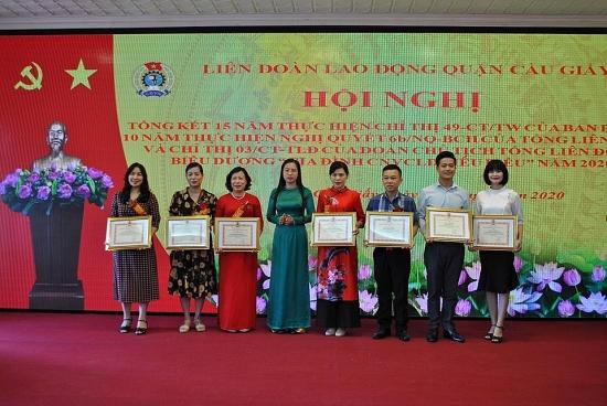 Thúc đẩy bình đẳng giới, khẳng định vai trò nữ công nhân viên chức lao động