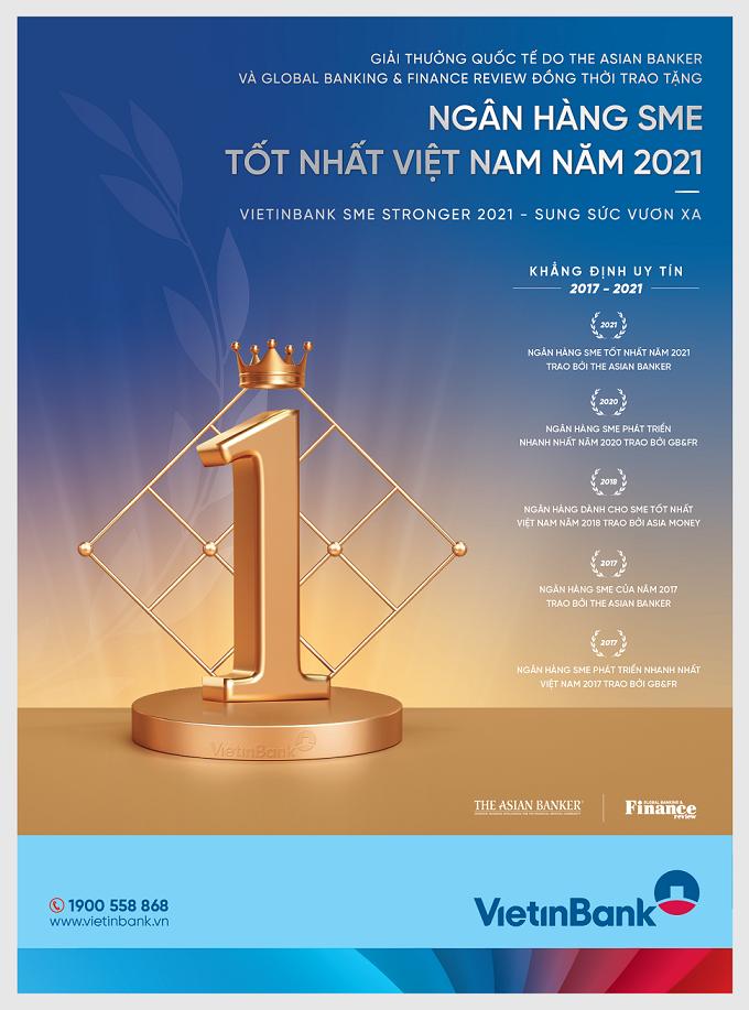 """Khẳng định thương hiệu """"Ngân hàng SME tốt nhất Việt Nam"""""""