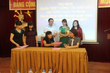 Quận Nam Từ Liêm: Tăng cường công tác đảm bảo ATTP trong trường học