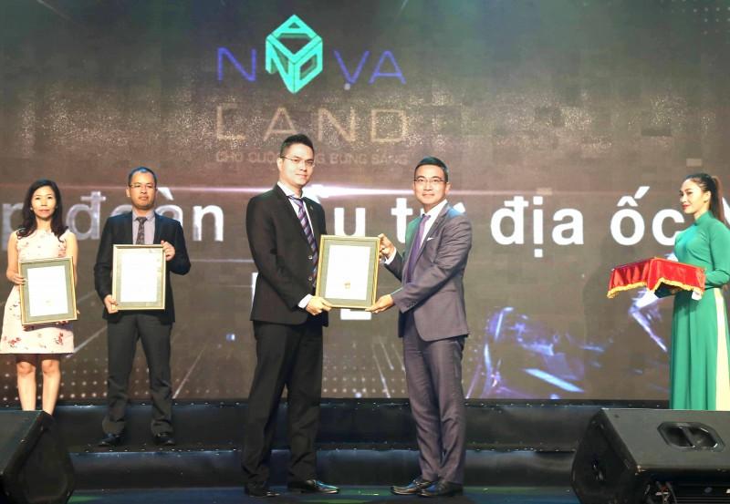 Novaland lọt top 10 Báo cáo thường niên tốt nhất năm 2017