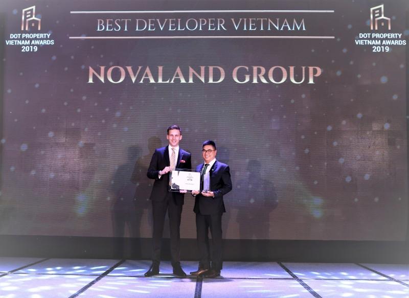 novaland duoc vinh danh nha phat trien du an bat dong san tot nhat viet nam 2019