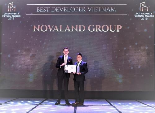 Novaland được vinh danh Nhà phát triển dự án bất động sản tốt nhất Việt Nam 2019