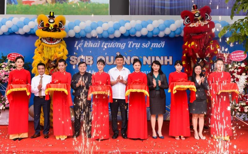 SCB Quảng Ninh khai trương trụ sở mới